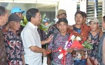 Indonesia trao trả 228 ngư dân Việt Nam trên biển
