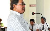 Đề nghị phạt nguyên chủ tịch huyện Đông Hòa 12-13 năm tù