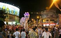 Đà Nẵng cấm múa lân trên đường phố