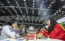 Tuyển cờ vua nữ VN lần đầu xếp hạng 7 tại Olympiad