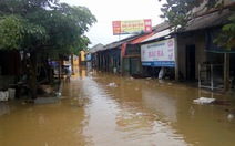 Hơn 3.000 học sinh miền núi Hà Tĩnh nghỉ học do ngập lụt