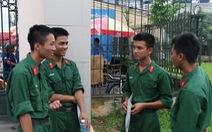 Các trường quân đội tiếp tục tuyển bổ sung
