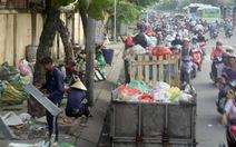 Đường phố Sài gòn thành nơi gom rác mơ ngọc gì nổi