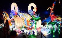 Trẻ em vui Trung Thu với đèn khổng lồ tại Sài Gòn