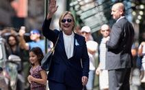 Khi Hillary Clinton loạng choạng
