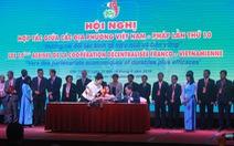 Ký kết nhiều bản ghi nhớ hợp tác các địa phương Việt - Pháp