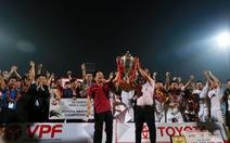 Nỗi buồn ngày vô địch của Hà Nội T&T