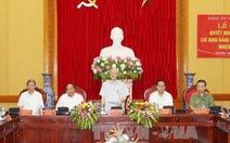 Lần đầu tiên Tổng Bí thư tham gia Đảng ủy Công an Trung ương