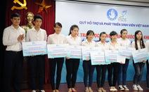 Trao học bổng cho 111 thủ khoa và sinh viên khó khăn