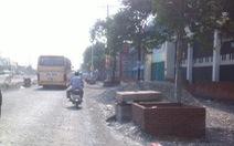 TP.HCM: Điều chỉnh độ cao thiết kế đường Kinh Dương Vương