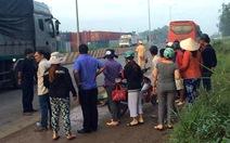 Xe khách Phương Trang tông chết người nhặt ve chai