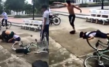 Xác minh clip nam sinh lớp 9 bị đánh dã man trong công viên