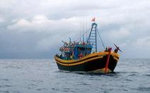 Truy đuổi tàu giã cào, thanh tra viên bị xô xuống biển