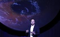 Elon Musk: Sẽ chinh phục Sao Hỏa từ năm 2018