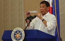 """Tổng thống Duterte:""""Ma túysẽ phá hủy thế hệ người Philippines tiếp theo"""""""