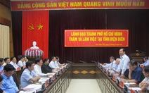 Lãnh đạo TP.HCM thăm và làm việc tại tỉnh Điện Biên