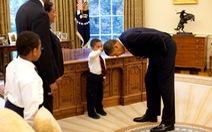 """Hé lộ những tấm ảnh """"đời thường"""" của ông Obama"""