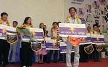 Dự án trồng gạo sạch đoạt giải nhất cuộc thi khởi nghiệp