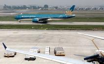 Hai chiếc Boeing của Vietnam Airlines bị chim va vào động cơ