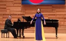 Phạm Khánh Ngọc giành giải nhì Cuộc thi thanh nhạc Asean