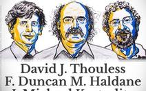 Giải Nobel Vật lý 2016 về tay bộ ba nhà khoa học Anh