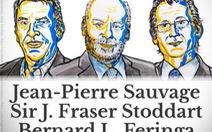 """Giải Nobel Hóa học 2016 vinh danh những """"cỗ máy siêu nhỏ"""""""