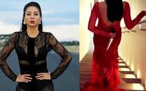 Thu Minh cầmdao sau lưngtrong MV Goodbye