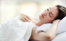 Chất lượng giấc ngủ kém làm tăng tốc độ lão hóa da
