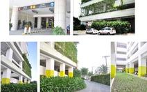 Bãi giữ xe sinh thái của HaDo Centrosa Garden