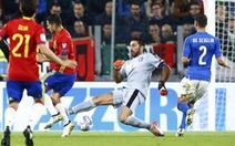 Buffon phạm sai lầm, Ý và Tây Ban Nha chia điểm