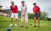Chơi golf giúp trị nhiều bệnh mãn tính