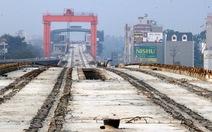 Hợp long tuyến đường sắt trên cao Cát Linh - Hà Đông