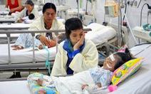 Trẻ nhập viện do viêm phổi tăng cao
