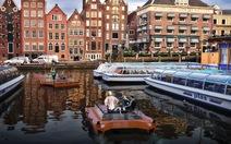 """ĐH Hà Lan hợp tác MIT chế thuyền tự lái """"roboat"""""""