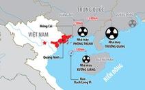 Audio 10-10:Ứng phó với nhà máy điện hạt nhân sát biên giới