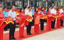 Hà Nội khai trương hai tuyến xe buýt kết nối ngoại thành