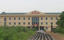 Bệnh viện đầu tư 73 tỉ đồng, 6 năm chưa xây xong