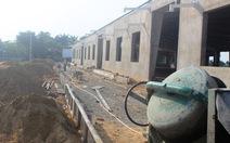 Chưa xin phép xây dựng đã xong phần thô nhà máy