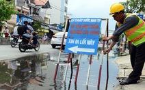 Chủ động trước triều cường,đường Huỳnh Tấn Phát chỉ ngập 20cm