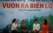 81 tân SV Khánh Hòa, Ninh Thuận nhận học bổng Tiếp sức đến trường