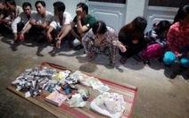 Phá sòng bạc ở An Giang, 17 con bạc bị triệu tập