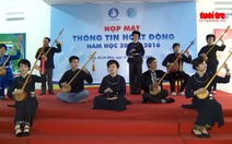 Người dân tộc Tày, Nùng hát then, đàn tính giữa lòng Sài Gòn