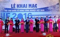 Hội chợ Quốc tế hàng Công nghiệp Việt Nam năm 2016