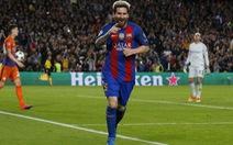 Messi lập hat-trick, Barca nhấn chìm M.C