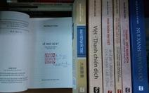 Đấu giá sách quý hiếm cho bà con vùng lũ miền Trung