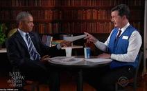 Ông Obama thử tài phỏng vấn xin việc sau khi rời Nhà Trắng