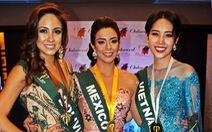 Nam Em nhận huy chương bạc thứ hai tại Miss Earth