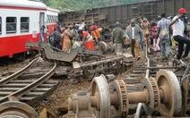 Tàu hỏa trật bánh lật nhào ởCameroon, 55 người chết