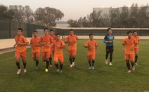 Tứ kết U-19 Bahrain - U-19 VN:90 phút nữa là đến World Cup