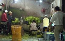 Phạt cơ sở dùng hóa chất ngâm rau muống gần 40 triệu đồng